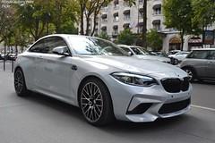 BMW M2 Compétition (Monde-Auto Passion Photos) Tags: voiture vehicule auto automobile bmw m2 compétition coupé rare rareté showroom concesionnaire georgev france paris