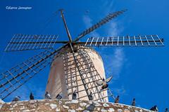 Old windmill at Palma de Mallorca 2019 (Fabke.be) Tags: mill windmill windmolen moulin palmademallorca palma mallorca balear balearic baleares