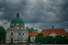 Warsaw (old town)   Varsovia (casco viejo) (Carlos M. M.) Tags: varsovia warsaw poland polonia hdr sony sonyalpha6000 nubes clouds church iglesia