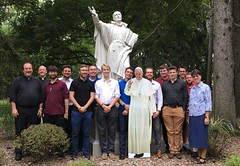 Conclusion of Seminary Retreat at Jesuit Retreat Center, Parma, OH, August 29 – September 1, 2019.