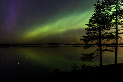 Northern lights over lake Kallavesi in Finland (VisitLakeland) Tags: finland kuopio kuopiotahko lakeland aurora auroraborealis evening ilta järvi lake luonto maisema nature northernlight outdoor revontulet revontuli scenery sky taivas