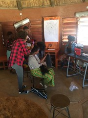 Hairdressing Makerspace, 9/3/19 (Lubuto Library Partners) Tags: lubutolibrarypartners lubutolibrary publiclibrary lubuto library africa zambia ovc children youth makerspace carpentry basketweaving doormatmaking hairdressing barber mentoring