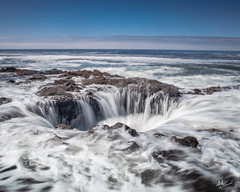 Thor's Well.. finally off my bucket list! (ashpmk) Tags: thorswell pacificnorthwest pacific pacificcoast pacificocean sinkhole canon canon5dmarkiv canon5dmark4 oregon oregoncoast coast westcoast west weekend laborday 2019 usa