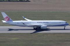 China Airlines Airbus 350-941 B-18910 (c/n 0151) (Manfred Saitz) Tags: vienna airport schwechat vie loww flughafen wien china airlines airbus 350900 359 a359 b18910 breg
