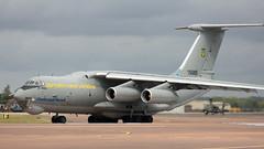 IL-76 | 76683 | FFD | 20190722 (Wally.H) Tags: ilyushin il76 ilyushin76 76683 ukrainianairforce ffd egva fairford airport