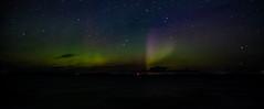 Photo of Aurora Borealis over the
