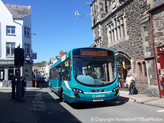 CX14BXU 3179 Arriva Buses Wales in Conwy (Nuneaton777 Bus Photos) Tags: arriva buses wales wright pulsar cx14bxu 3179 conwy
