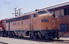2202 and Counting (GRNDMND) Tags: trains railroads sbc sonorabajacalifornia locomotive emd f7a mexicali bajacalifornia mexico