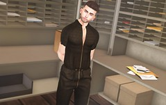 UPS Chic (EnviouSLAY) Tags: ups mailman mail man mailroomscene room scene organizer secondlifefashion secondlifephotography balaclava tresblah tres blah dufaux coveralls jumpsuit brown khaki newrelease new release decor belleza bento lelutka andrea stealthic tmd themensdepartment mensmonthly mensfashion mensfair mensdecor monthlyfashion monthlyfair monthlyevent monthlydecor monthly mens fashion fair pale male gay lgbt blogger secondlife second life photography
