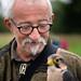 Falconer Frank Skaarup and his bird (2)