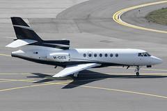 BZ Air Ltd Dassault Falcon 50EX M-CICO (c/n 345) (Manfred Saitz) Tags: vienna airport schwechat vie loww flughafen wien dassault falcon 50 fa50 mcico mreg