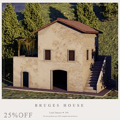 {YD} Bruges House ({Your Dreams}) Tags: we3roleplay house mesh sale sl newdecortation new newrelease