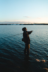 Martin (thedrowsy) Tags: sweden nature swe sverige jämtland norrland northern north photographer fishing water cold scandinavia