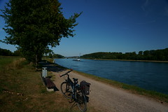 Bike to Work (Lutz Blohm) Tags: biketowork bike2work biketour fahrradtour sonyfe24105mmf4goss sonyalpha7aiii rheinufer stevensp18 pinionp118getriebe