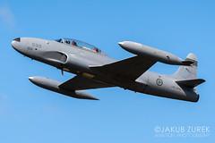 CT-133 Silver Star (Jakub Z) Tags: bournemouthairport bournemouthairshow bournemouthairfestival bournemouth airshow display jet shootingstar t33shootingstar ct133silverstar norwegianhistoricalsquadron