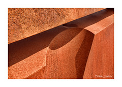 Steel Abstract (PeteZab) Tags: abstract pattern metal texture peterzabulis steel rust diagonal curve