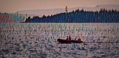 Aquatic Life (Rollingstone1) Tags: helensburgh scotland boat dinghy water sea trees hills sky colours vivid seascape art artwork