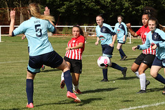 57g (Dale James Photo's) Tags: buckingham athletic football club ladies womens afc caversham thames valley counties league division two stratford fields buckinghamshire non