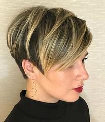 + De 20 Nouveaux Moderne des Cheveux Courts pour 2019 (votrecoiffure) Tags: 2019 cheveux coiffure votrecoiffure