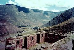 Peru: Pisac (alias archie) Tags: andes pisac perú inca xa2 olympusxa2 film peru ruins sacredvalley urubambariver