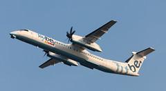 DHC-8 | G-ECOA | AMS | 20110315 (Wally.H) Tags: bombardier dehavillandcanada dhc8 dash8 gecoa flybe ams eham amsterdam schiphol airport