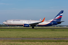VQ-BWF - Aeroflot Russian Airlines - Boeing 737-8LJ(WL) (5B-DUS) Tags: vqbwf aeroflot russian airlines boeing 7378ljwl b738 737800 ams eham amsterdam schiphol airport aircraft airplane aviation flughafen flugzeug planespotting plane spotting