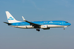 PH-BXB - KLM Royal Dutch Airlines - Boeing 737-8K2(WL) (5B-DUS) Tags: phbxb klm royal dutch airlines boeing 7378k2wl b738 737800 ams eham amsterdam schiphol airport aircraft airplane aviation flughafen flugzeug planespotting plane spotting