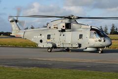 Merlin HM2, ZH826 (WestwardPM) Tags: eh101 agusta westland merlinhm2 zh826 royalnavy fleetairarm cornwallairportnewquay newquayairport