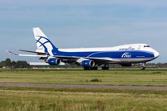 VQ-BWW - AirBridgeCargo - Boeing 747-406F(ER) (5B-DUS) Tags: amsterdam plane airplane airport aircraft aviation boeing flughafen flugzeug schiphol ams spotting 747400 eham planespotting b744 airbridgecargo 747406fer vqbww