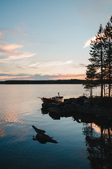 Island Hoppin (thedrowsy) Tags: sweden nature swe sverige jämtland norrland northern north photographer boats boat calm serene a7rii 35mm tones moody mood sony