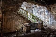 ...parliament staircase. (lars feldhaus) Tags: abandoned decay derelict travel roadtrip architecture concrete stairs light