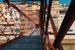 Bridge in Girona (ruf450) Tags: spain girona rx100iv city street getoutside bridge