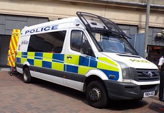 6488 - S. Yorks Police - YN64 ADZ - 101_2422 (Call the Cops 999) Tags: uk gb united kingdom great britain england 999 112 emergency service services vehicle vehicles 101 police constabulary policing law and order enforcement battenburg south yorkshire vw crafter personnel carrier yn64 adz