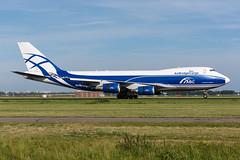 VQ-BWW - AirBridgeCargo - Boeing 747-406F(ER) (5B-DUS) Tags: vqbww airbridgecargo boeing 747406fer 747400 b744 ams eham amsterdam schiphol airport aircraft airplane aviation flughafen flugzeug planespotting plane spotting