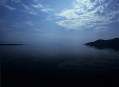 Velvia Skadar  (MF Velvia 100) (Harald Philipp) Tags: skadar lake montenegro pentax 645 645n 645nii 120 mediumformat velvia fujifilm smc clouds sky nature landscape blue