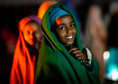Portrait of a smiling oromo girl, Oromia, Sheik Hussein, Ethiopia (Eric Lafforgue) Tags: oromia africa girls horizontal night outdoors photography day muslim islam faith headshot ethiopia pilgrimage muda hornofafrica eastafrica girlsonly lookingatcamera oromo headandshoulder childrenonly colourpicture oromiaregion balezone ethiopia2019232 portrait smile smiling shrine religion sufi twopeople placeofworship traditionalclothing sheikhhussein