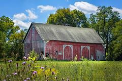 Fort Wayne Barn Revisited (markburkhardt) Tags: