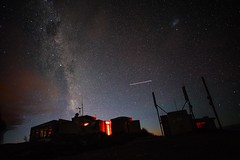 ISS over Mount John Observatory (ColobostheCrab) Tags: iss observatory milky way sky