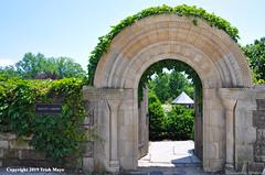 Bishop's Garden (Trish Mayo) Tags: garden entrance arch bishopsgarden nationalcathedral washingtondc medievalarchitecture