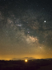 Milky Way (Florian_L.) Tags: france milkyway voielactée stars astro nightscape astrophoto panoramic photopills fujifilm xt20 astrophotography longexposure sky mountain
