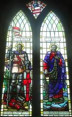 [78976] St Mary, Leake : Chancel North Window (Budby) Tags: leake church northyorkshire window stainedglass