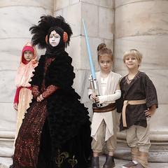 Star Wars kids (greyloch) Tags: dragoncon cosplay costumes kids padméamidala anakinskywalker rey moviecharacter moviecharactercostume 2019 canonrebelt6s niksoftware colorefexpro starwars