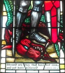 [78982] St Mary, Leake : Chancel North Window (Budby) Tags: leake church northyorkshire window stainedglass