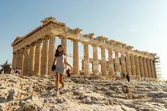 Parthénon (LO.ST) Tags: athens greece acropole athènes parthénon voyage girl canon 77d