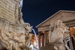 R o m e (Sivakovin) Tags: xt3 fujifilm rooma night pantheon rome