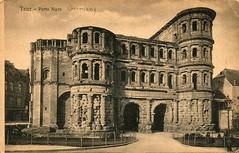Trier - Porta Nigra (tico_manudo) Tags: trier portanigra tréveris patrimoniodelahumanidad alemania alemaniavintagepostcards germany