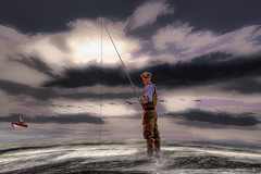 Fishing (Rusty Russ) Tags: fishing marylin monroe fish cloud sea water line colorful day digital flickr country bright happy colour scenic america world sunset sky red nature blue white tree green art light sun park landscape summer old new photoshop google bing yahoo stumbleupon getty national geographic creative composite manipulation hue pinterest blog twitter comons wiki pixel artistic topaz filter on1 sunshine image reddit tinder russ seidel facebook timber unique unusual fascinating