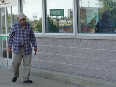 Along the Road, Cedar Rapids 8-17-19 06 (anothertom) Tags: iowa cedarrapids alongtheroad random guy walking people