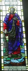 [78978] St Mary, Leake : Chancel North Window (Budby) Tags: leake church northyorkshire window stainedglass