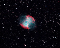 The Dumbbell Nebula! (gainesp2003) Tags: dumbbell nebula planetary space deepspaceobject telescope science night sky astronomy astrophotography
